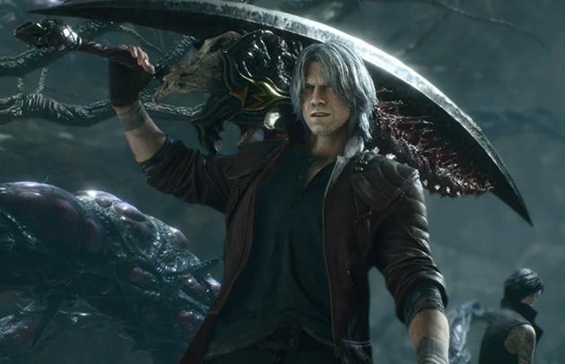 Dante et sa grosse épée
