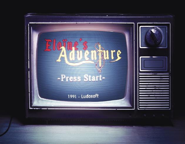 escape game Le temple du pixel Eloine's Adventure