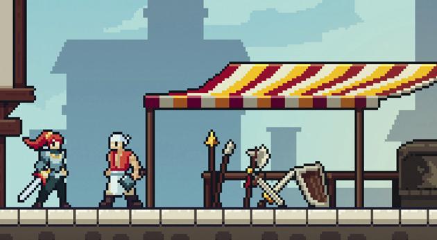 escape game Le temple du pixel marchand d'arme