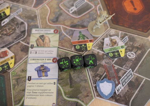 Fallout Le jeu de plateau combat