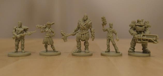 Fallout Le jeu de plateau figurines