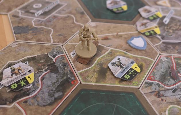 Fallout Le jeu de plateau tuiles