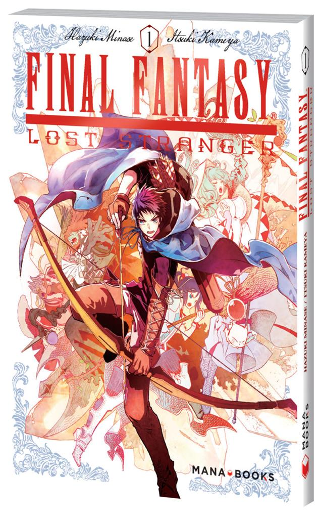 Final Fantasy Lost Stranger tome 1