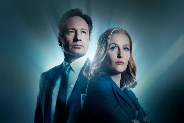 Mulder et Scully dans la saison 10 des X-Files