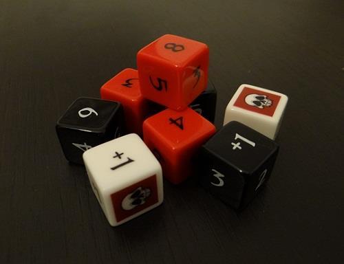 jeu dark minions dés