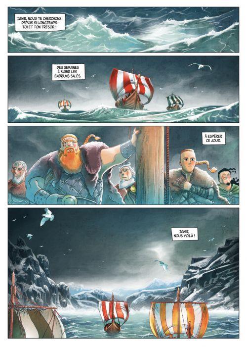 Harald et le trésor d'Ignir - T1 - p03