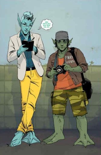 Deux nouveaux personnages du tome 3 de Saga