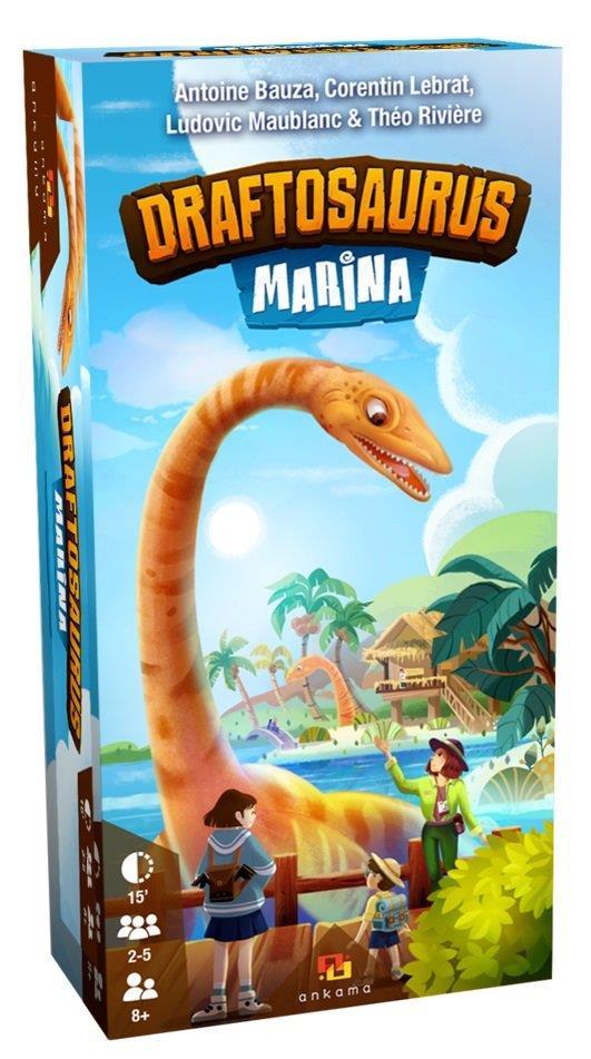 Extension jeu Draftosaurus Marina