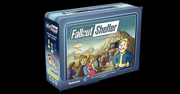 Jeu de société Fallout Shelter