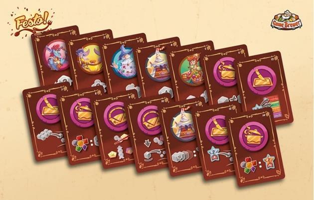 jeu festo cartes évènements