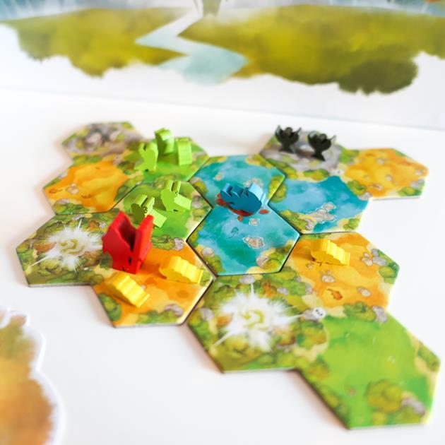 jeu l'Île de Pan tuiles