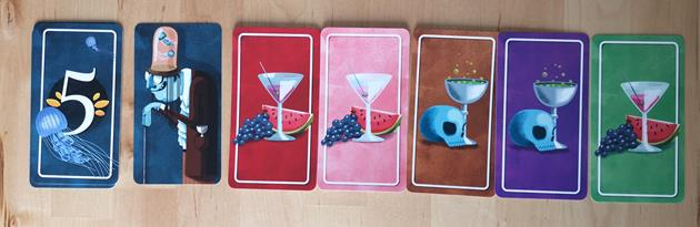 Jeu poisons cartes boisson