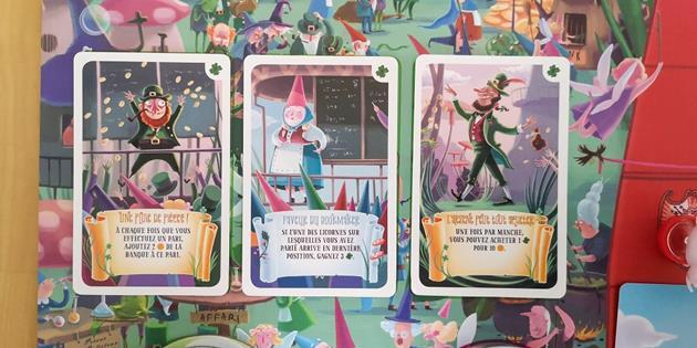 jeu Unicorn Fever cartes contrat