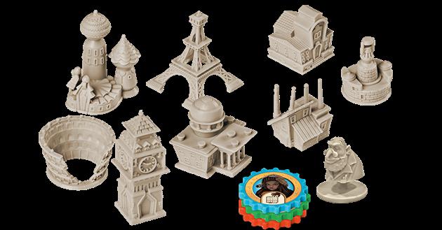 jeu Victorian Masterminds figurines