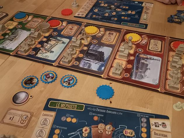 jeu Victorian Masterminds partie