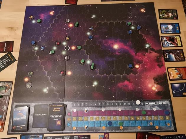 Kepler 3042 plateau de jeu