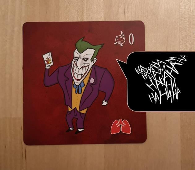 La Petite Mort Les Grands Méchants rire Joker