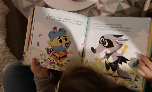 Livre Super Nono et Dark Leloup