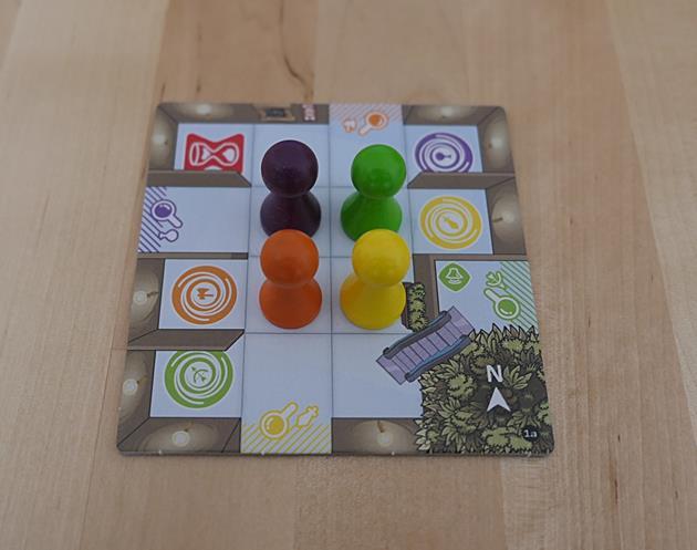 Magic Maze mise en place