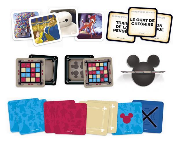 matériel jeu Codenames Disney Edition Famille