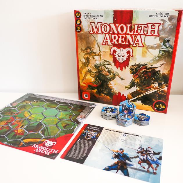 Matériel jeu Monolith Arena