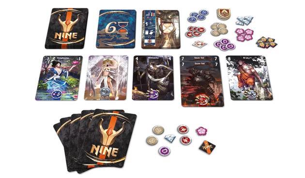 Matériel jeu Nine