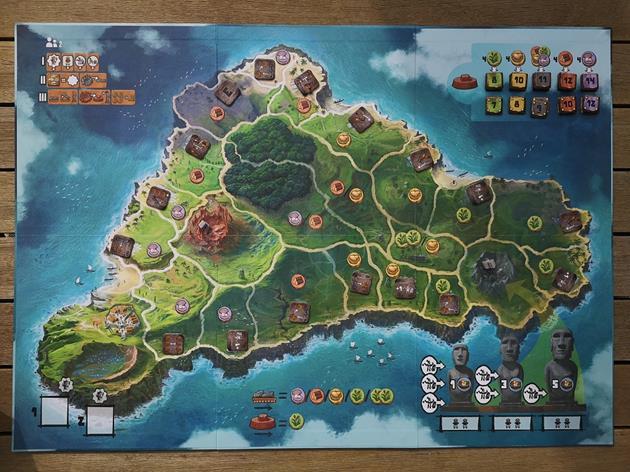 Matériel jeu Rapa Nui