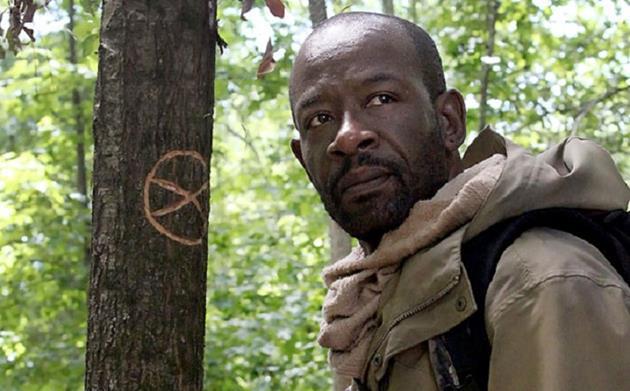 Morgan seul dans les bois