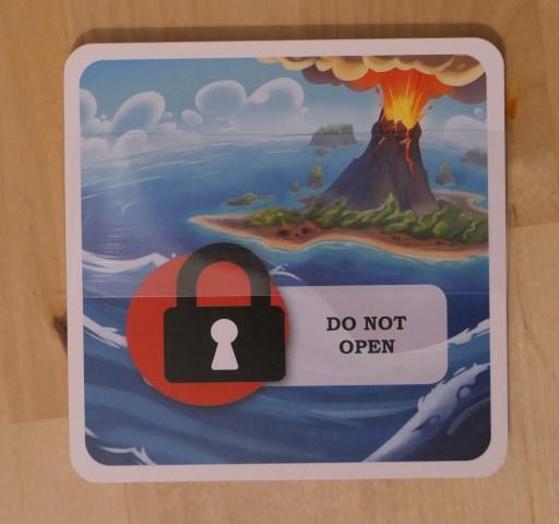 Panic Island paquet mystère