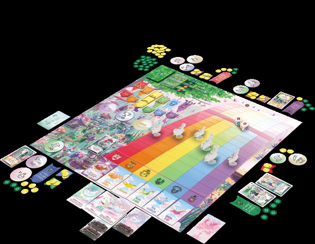 plateau jeu de société Unicorn Fever