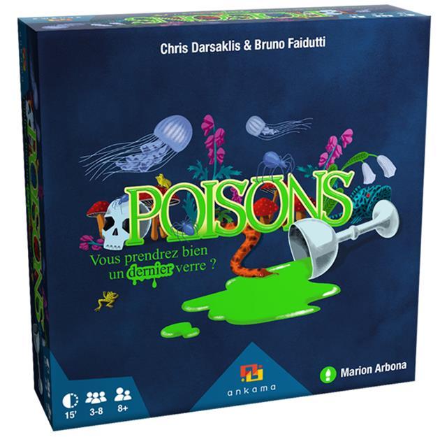 Poisons boite de jeu