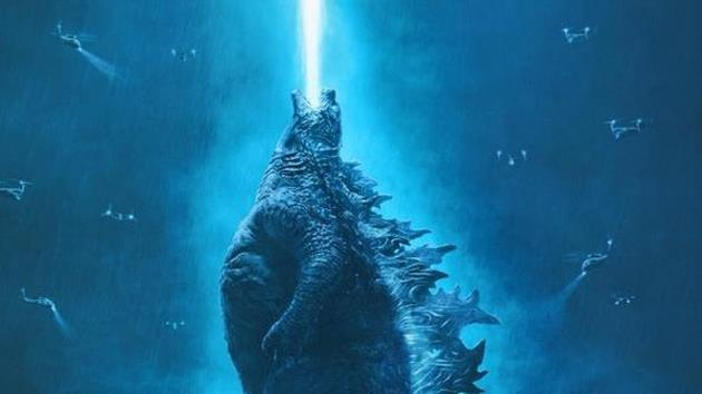 Rayon bleu de Godzilla