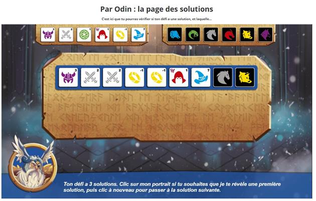 solution du casse-tête Par Odin