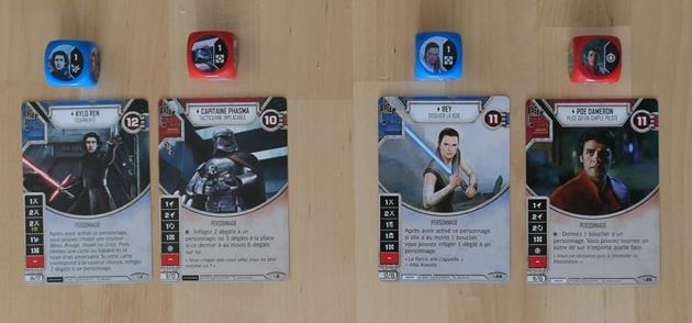 Star Wars Destiny Personnages