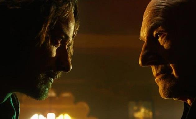 Xavier et Xavier face à face