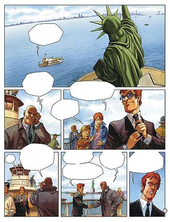 La première page d'Ellis