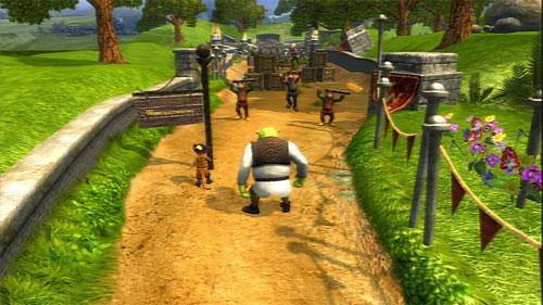 Le jeu vidéo Shrek 3