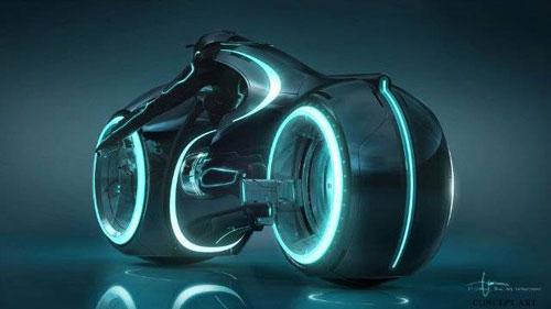 Une moto-lumièrer nouvelle génération
