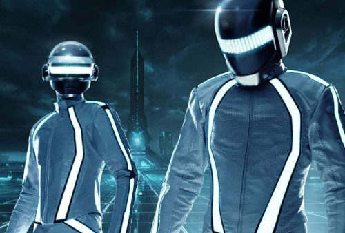 Les Daft Punk sont normaux dans TRON