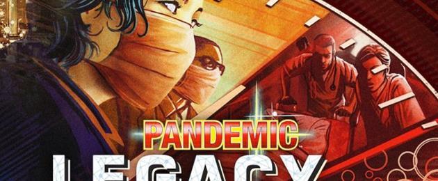 Critique du Jeu de société : Pandemic Legacy Saison 1