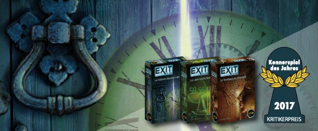 Critique du Jeu de société : Exit