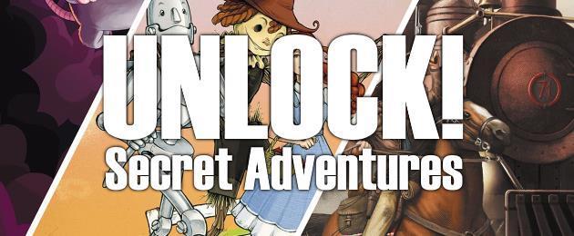 Critique du Jeu de société : Unlock ! Secret adventures