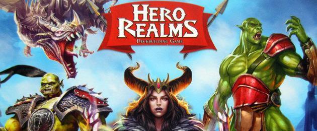 Critique du Jeu de cartes : Hero Realms