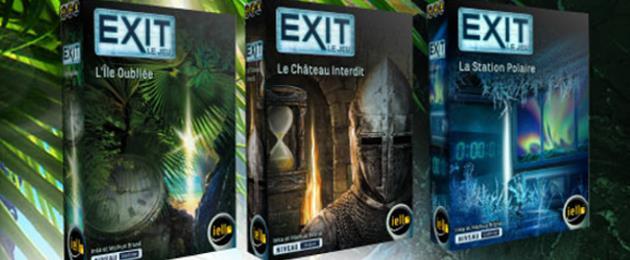 Critique du Jeu de société : Exit Saison 2