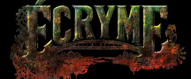 Critique du Jeu de rôle : Ecryme