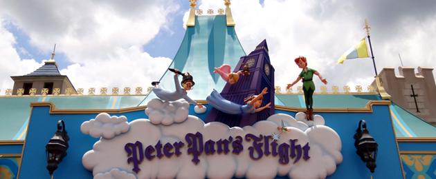 Le vol de Peter Pan