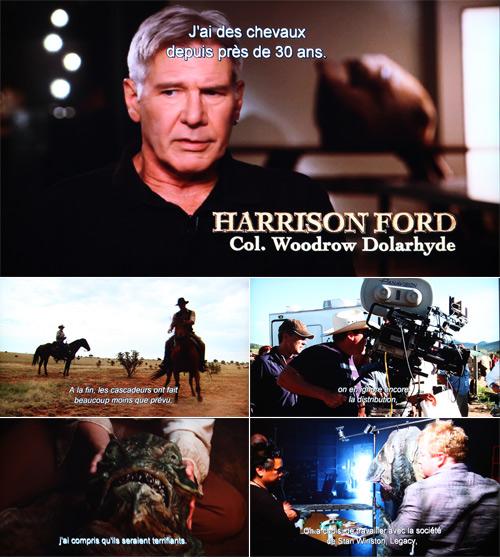 Cowboys & Envahisseurs bonus Blu-Ray 2