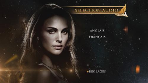 Thor pistes audio DVD