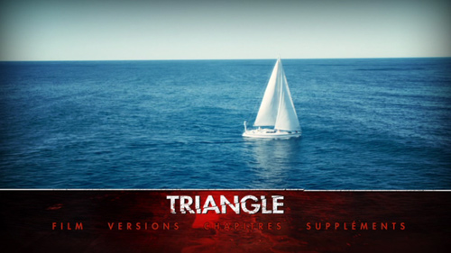 Triangle DVD menu