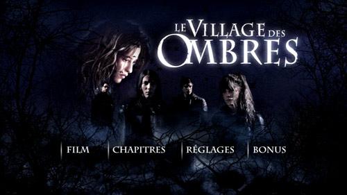 Village des ombres menu DVD